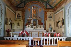 intérieur de la Chapelle Saint-Joachim