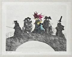 Paul Flora, Venezianische Brücke