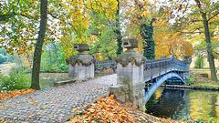 HFF Brücke zur Liebesinsel am Schloss Mirow (PiP)