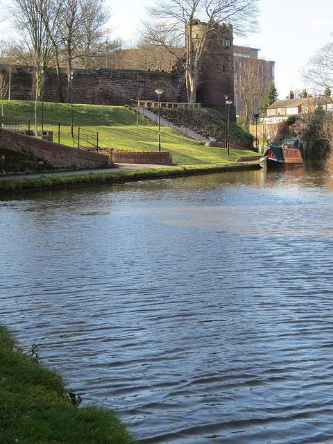 phoenix tower and canal, chester