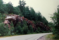 Bush country in Northern Ontario