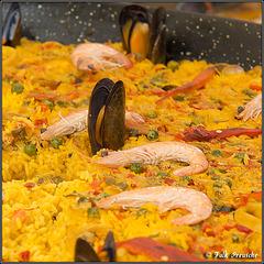 Paella zum Straßenfest