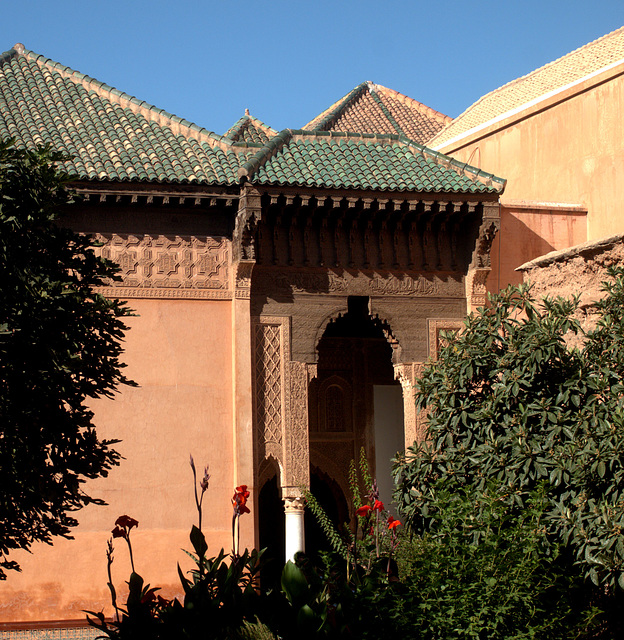 Marrakesch - Tombeaux Saaladiens