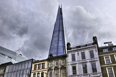 The Shard – Viewed from the corner of Borough High Street and Southwark Street, London, England