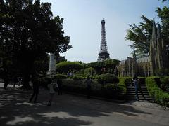 Monuments en miniatures,  ville de  Shenzhen parc en Chine