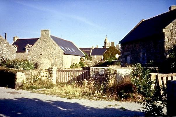 Altes, bretonisches Dorf