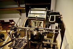 Overloon War Museum 2017 – Printing press
