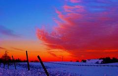Ciel d'hiver...