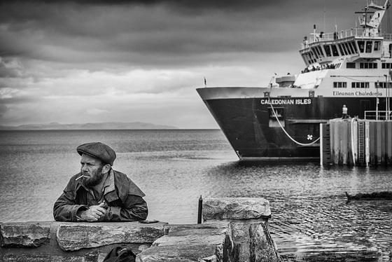 Brodick Harbour, Arran, 29 October 2016
