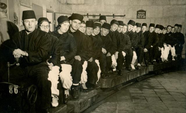 Berchtesgaden Salt Mine, September 17, 1962