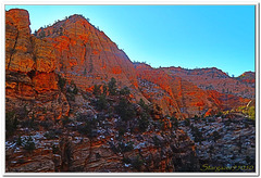 ZION CANYON in HDR