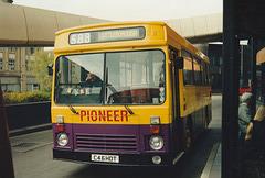 Pioneer C46 HDT in Rochdale bus station – 15 Apr 1995 (259-14)