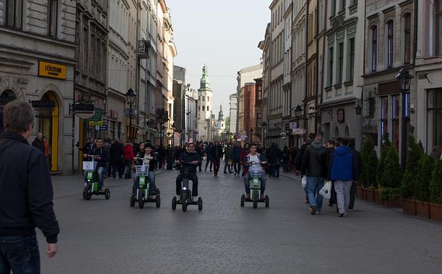 Poland, Krakow Rynek Główny  (#2288)
