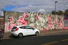 'Pink Rabbits' by Yu-baba