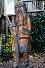 20171012 3619VRMw [D~LIP] Holzschnitzerei, UWZ, Bad Saluflen