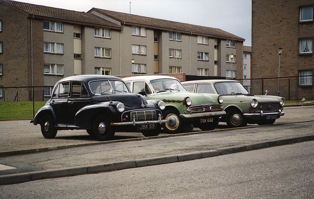 Rattray Place fleet