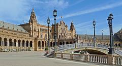 Spain - Sevilla, Plaza de España