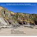Little Haven - The Settlands; recumbent fold, thrusts, and overturned bedding - geological interpretation