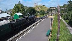 Webcam: station Corfe Castle