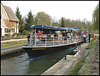 Salters Steamer at Iffley Lock