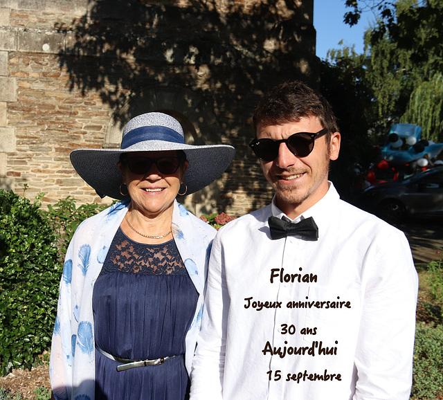 30 ans aujourd'hui pour mon fils Florian