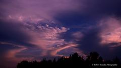 Les nuages colorés
