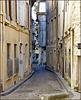 Avignon : Una delle strade del centro storico - ovvio, tutte a senso unico