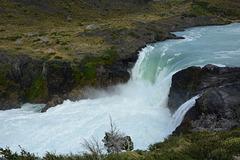 Chile, Salto Grande Waterfall