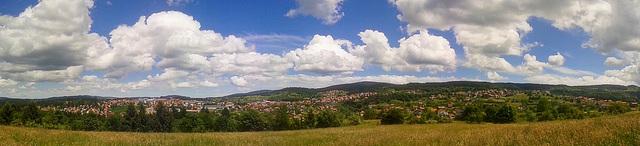 Kneževo, the place where I live - panorama