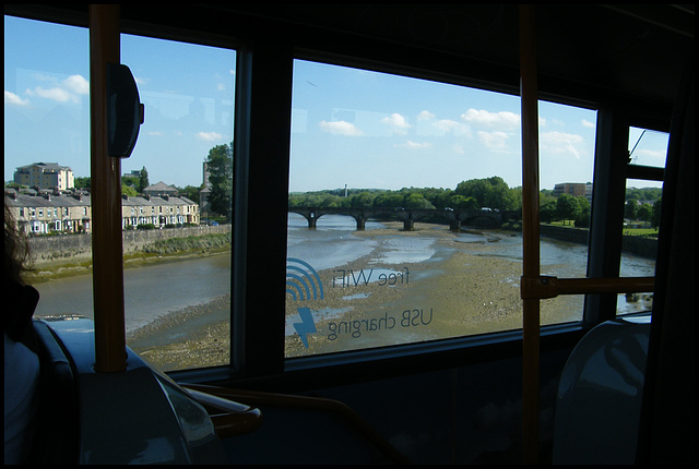Skerton Bridge from the bus