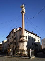 Column of Madonna dello Stellario.