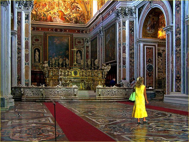 Napoli : la Chiesa della Certosa di San Martino - (824)