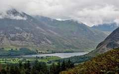 High view to Crummock Water