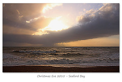 Nearly sunset - Seaford Bay - 24.12.2015