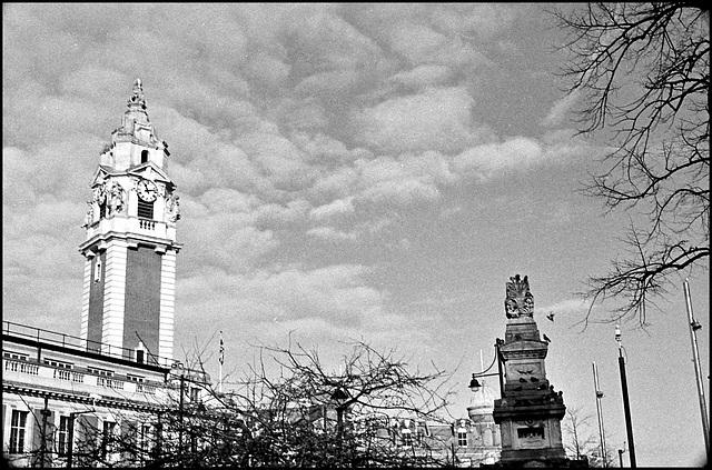 Townhall and Budd Mausoleum, Brixton.