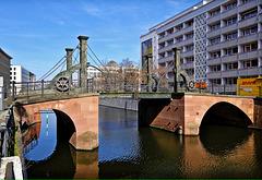The oldest bridge in Berlin.  2019-03-30 DSCF3201b