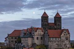 Mond über Quedlinburg (PiP)
