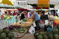 Jour de marché à Niort