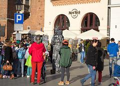 Poland, Krakow Rynek Główny  (#2425)