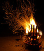 Terrassen-Feuer