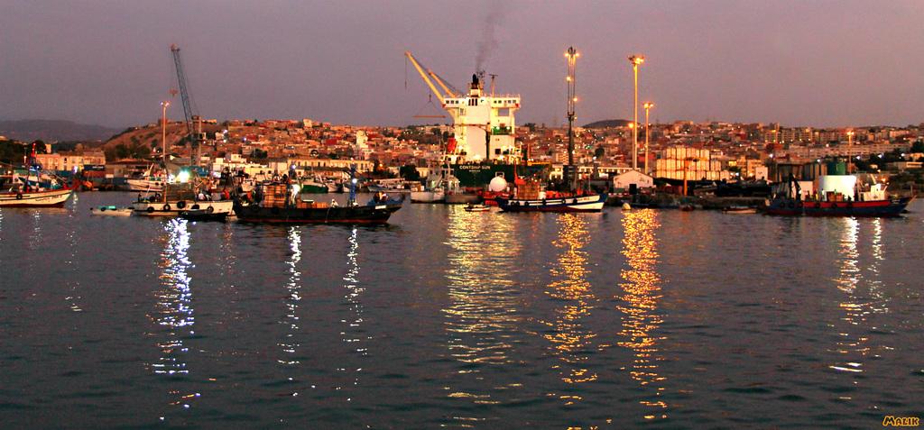Port de pêche de Ghazaouet .
