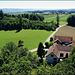 Hohenrain und Blick in Richtung Westen zum Dorf Gunterwilen