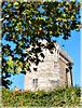 Le château de Dinan (22) vu depuis le jardin des petits diables