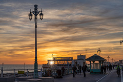Brighton - sunset
