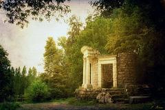 Temple de la Philosophie moderne - Parc J.J. Rousseau à Ermenonville