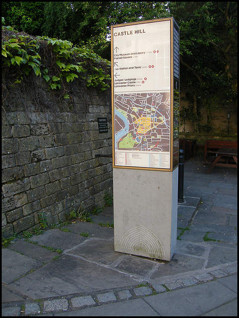 eyesore information sign