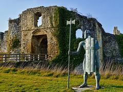 Defender of the South Barbican - Helsmsley Castle