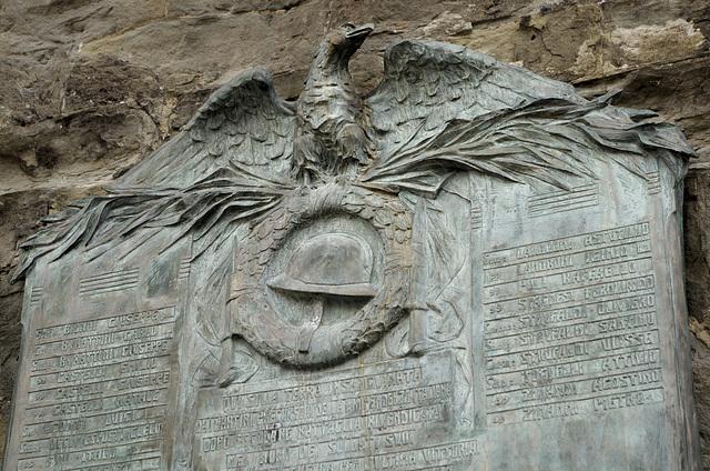 War memorial at Gavinana