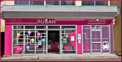 """Bourgoin-Jallieu (38) 8 septembre 2020. Bureaux de l'administration du réseau """"Ruban""""."""