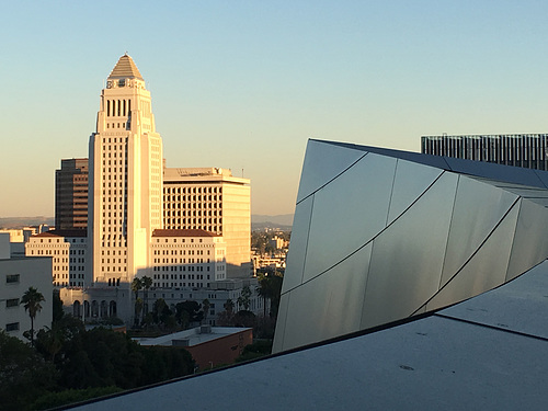 LA City Hall from Disney Hall (0098)